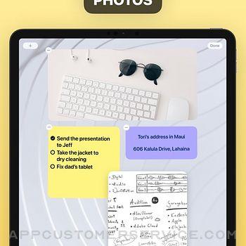 Sticky Notes Widget ipad image 4
