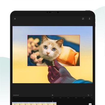 CapCut ipad image 2