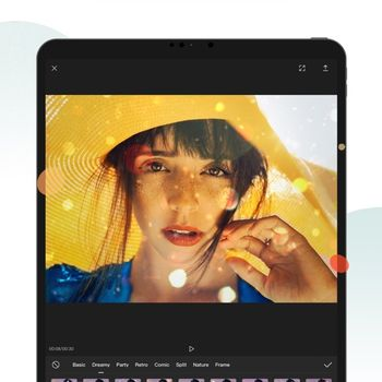 CapCut ipad image 3