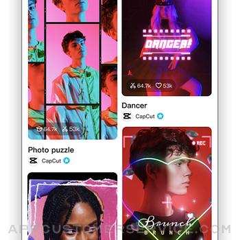 CapCut - Video Editor iphone image 1