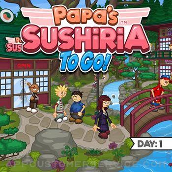 Papa's Sushiria To Go! ipad image 1
