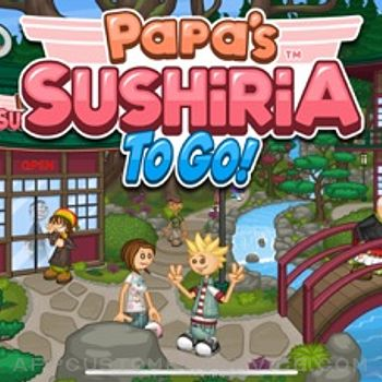 Papa's Sushiria To Go! iphone image 1