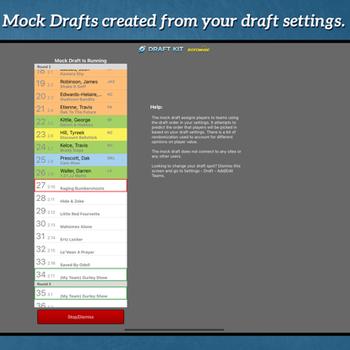 Fantasy Football Draft Kit '21 ipad image 2
