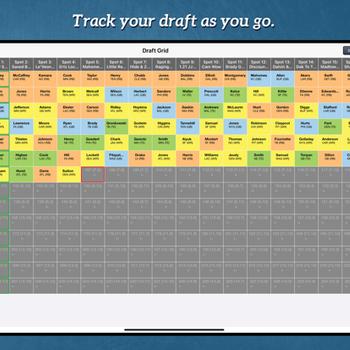 Fantasy Football Draft Kit '21 ipad image 4