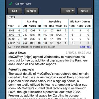 Fantasy Football Draft Kit '21 iphone image 3