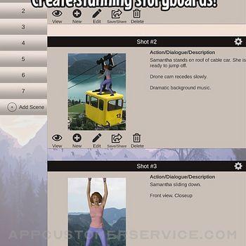Scene Creator - Storyboard app ipad image 1