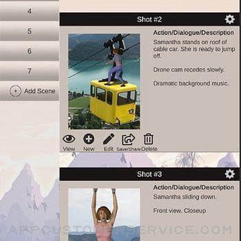 Scene Creator - Storyboard app iphone image 1