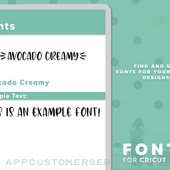 Fonts for Cricut ipad image 2