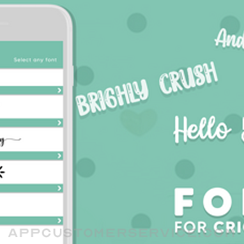 Fonts for Cricut iphone image 1