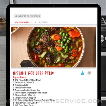 Recipes for Insta Pot ipad image 2