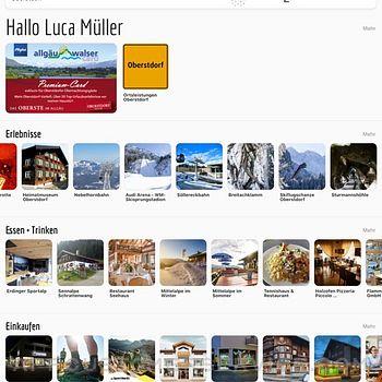 Allgäu Walser App ipad image 1