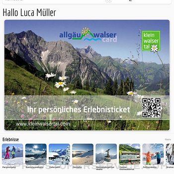 Allgäu Walser App ipad image 2