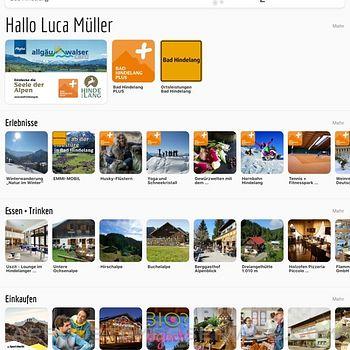 Allgäu Walser App ipad image 4