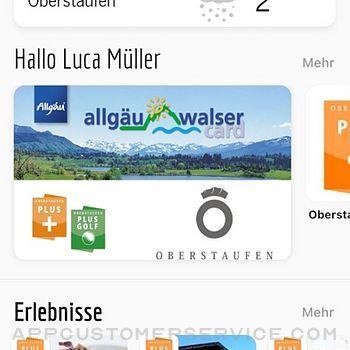 Allgäu Walser App iphone image 2