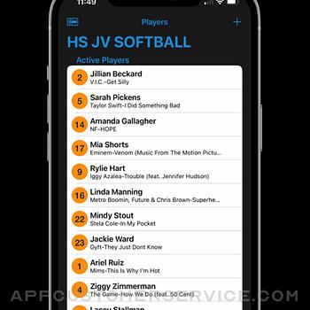 Next Batter Up: Walk-Up Music iphone image 2