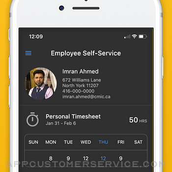 CMiC Employee Self Service iphone image 1