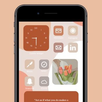 Colorful Widget-Custom Screen iphone image 1