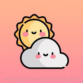CuteWeather: weather widget Customer Service