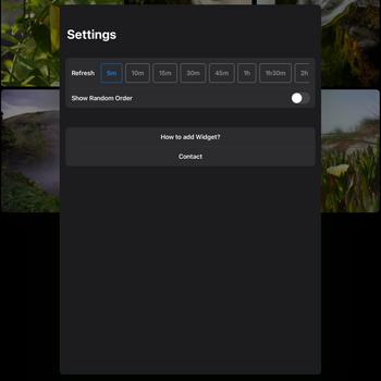 Photo Widget: Pro ipad image 4