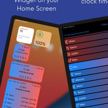 Planetary Hours Widget ipad image 1