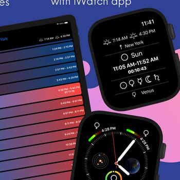 Planetary Hours Widget ipad image 2