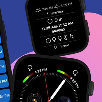 Planetary Hours Widget iphone image 3