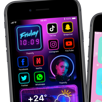 Themify: Icon Changer & Themes iphone image 1