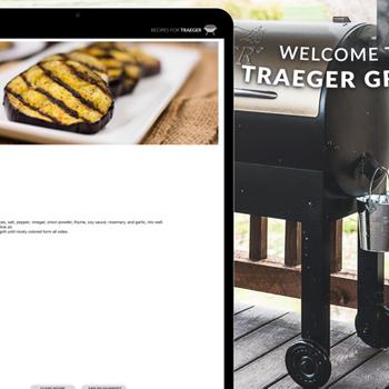 Recipes for Traeger Grills ipad image 1