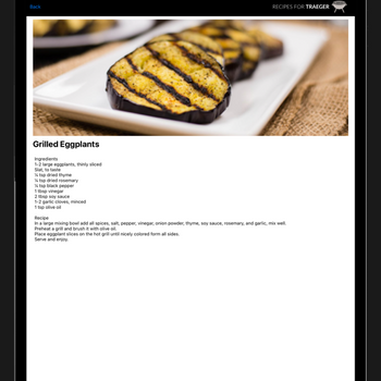 Recipes for Traeger Grills ipad image 3