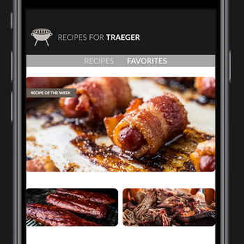 Recipes for Traeger Grills iphone image 2
