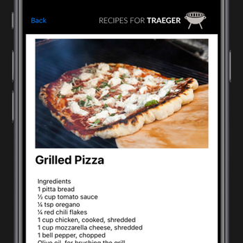 Recipes for Traeger Grills iphone image 3