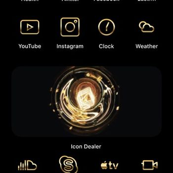 Icon Dealer - Aesthetic Themes iphone image 1