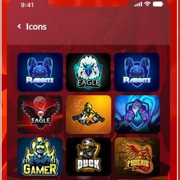 Esport Logo Maker-Gaming Logo iphone image 2