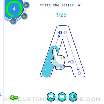 Alphabet Fun - ABC Tracing ipad image 1