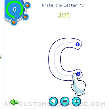 Alphabet Fun - ABC Tracing ipad image 3