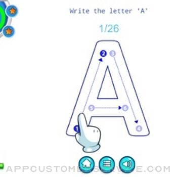 Alphabet Fun - ABC Tracing iphone image 1