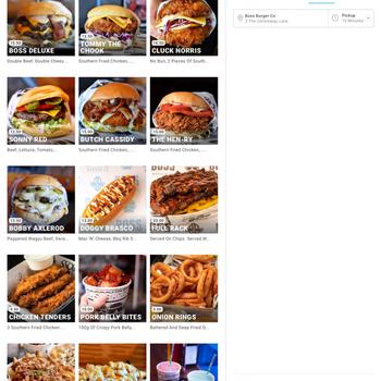 Boss Burger Co Lara ipad image 3