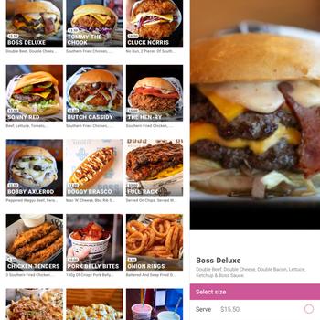 Boss Burger Co Lara ipad image 4