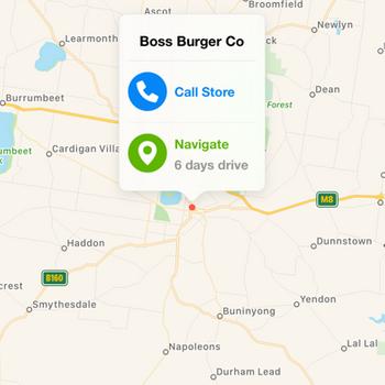 Boss Burger Co Lara iphone image 2