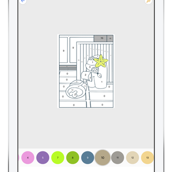 Coloring book for AM ipad image 1