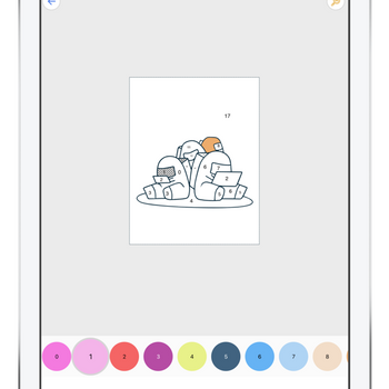 Coloring book for AM ipad image 2