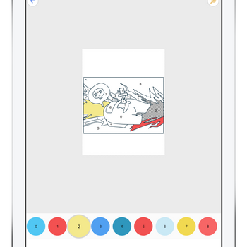 Coloring book for AM ipad image 3