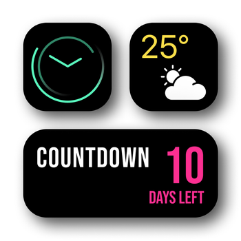 Widget   Countdown and battery Customer Service