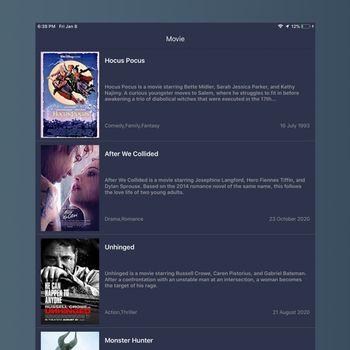 Tuner Radio Movies Player ipad image 1