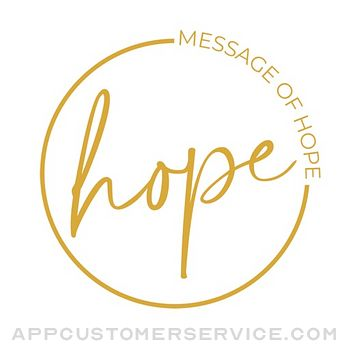 Message of Hope Customer Service