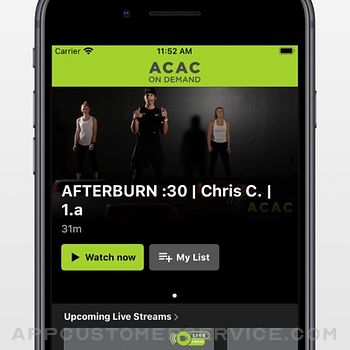 ACAC On Demand iphone image 2