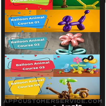 BalloonPlay Balloon Animal App ipad image 2