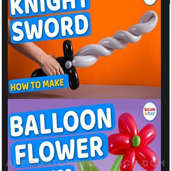 BalloonPlay Balloon Animal App ipad image 3
