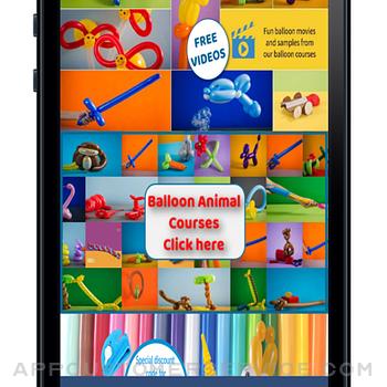 BalloonPlay Balloon Animal App iphone image 1