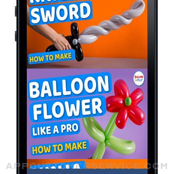 BalloonPlay Balloon Animal App iphone image 3